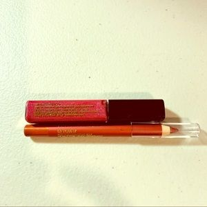 NEW! Estée Lauder 2pc lip gloss&pencil